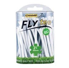 CP925 - White Champ Fly Tees 2 3/4