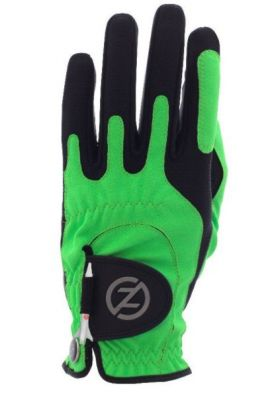 ZF Mens Compression Fit Lime Glove Left Hand