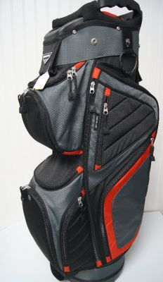 NB C290P Cart Bag Blk Gry Red
