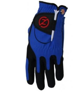 ZF Mens Right Hand Compression Fit Performance Glove Blue