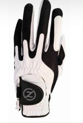 ZF Mens Right Hand Compression Fit Performance Glove White